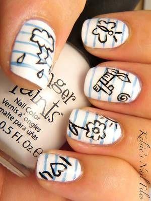 school nail art ideas