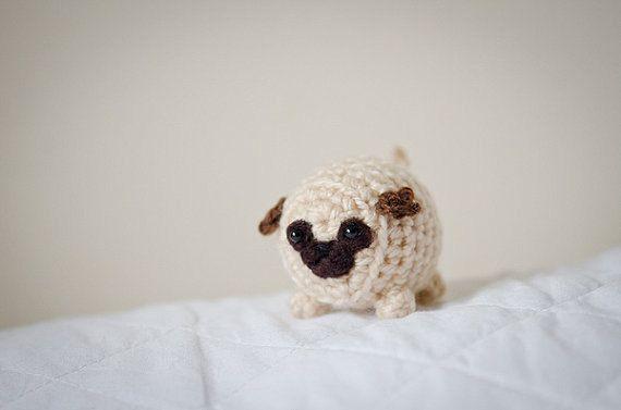Hey, I found this really awesome Etsy listing at https://www.etsy.com/listing/183085629/mystery-pug-cute-amigurumi-kawaii