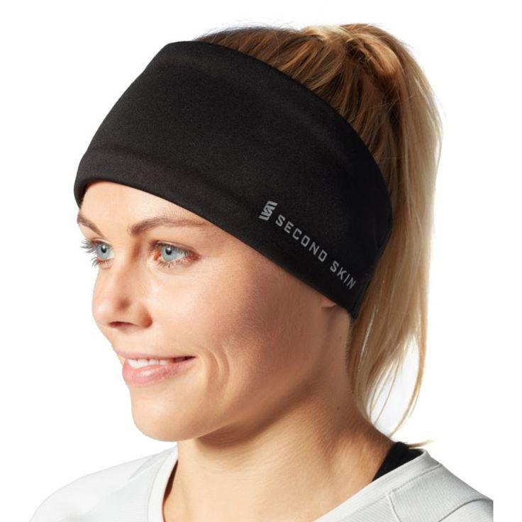 Second Skin Women's Headband, Black