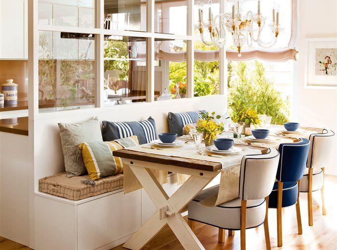 17 mejores ideas sobre asientos de banco de cocina en - Asiento con almacenaje ...