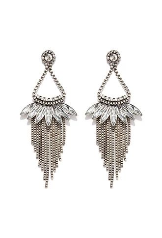 Chained Chandelier Earrings   Forever 21   #f21accessorize