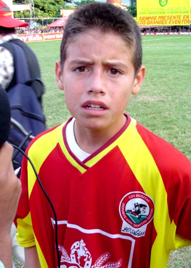 Young James Rodriguez (Colombia)