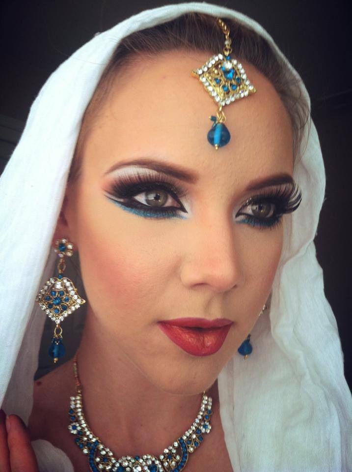 Ethnic Bridal Makeup : 1000+ images about Ethnic bridal makeup on Pinterest ...