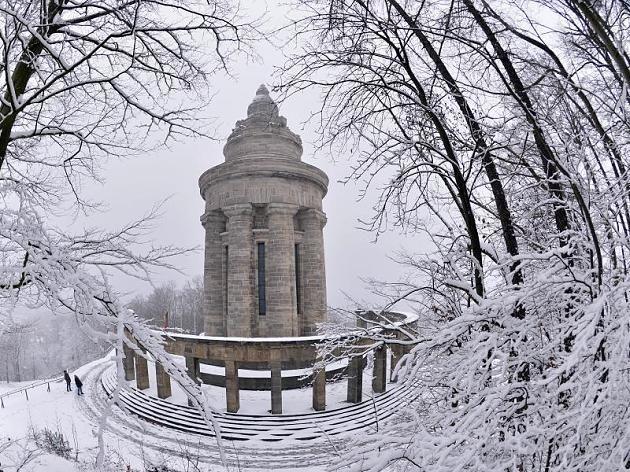Winter • Burschenschaftsdenkmal, Eisenach, Thüringen, Germany
