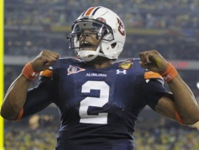 Cam Newton QB #2  Auburn Tigers done more in one year than most in 4!