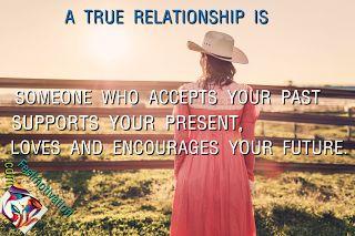 A true relationship.
