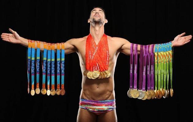 Los grandes momentos de Michael Phelps