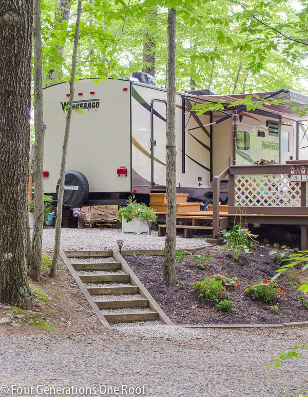 Best 25 deck makeover ideas on pinterest outdoor for Rv outdoor decorating ideas