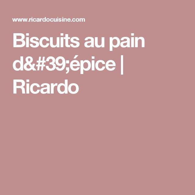 Biscuits au pain d'épice | Ricardo
