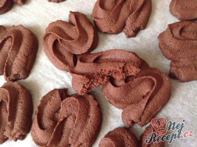 Křehké kakaové sušenky Esíčka