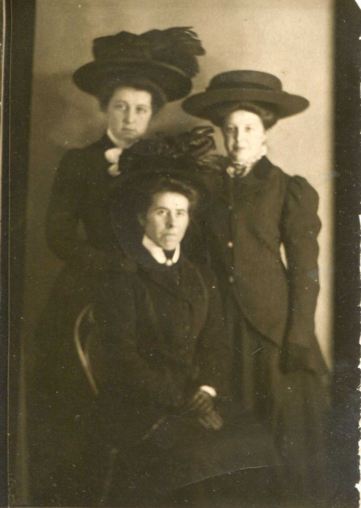 Hats! Dated 1910