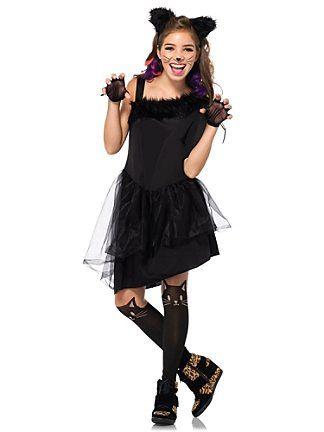 animalcostumesfortweens teen jinx the kitty costume - Cool Halloween Costumes For Teenagers