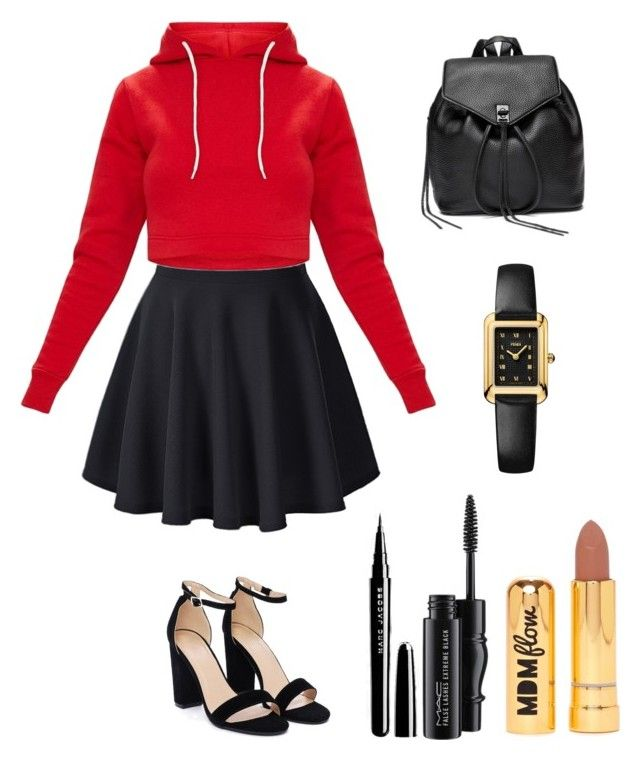"""""""From that"""" by utkonos on Polyvore featuring Nasty Gal, Rebecca Minkoff, Fendi and MAC Cosmetics"""