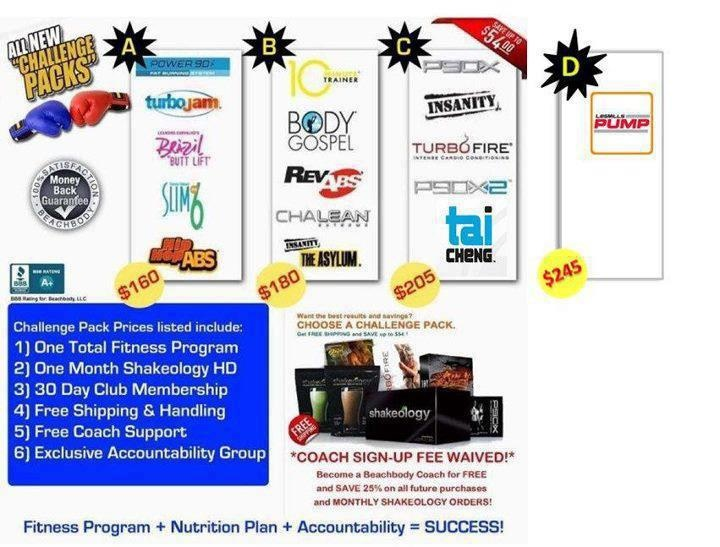 Amazing deals from Beachbody! P90x, Insanity, Les Mills Pump,+++   Comment or go to www.beachbodycoach.com/lisairwin