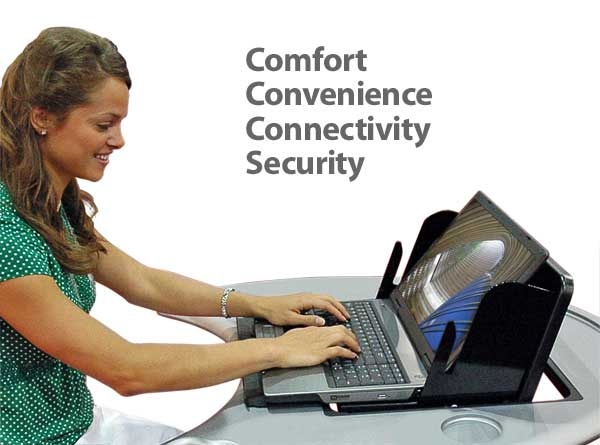 Laptop Safe can be used as a laptop charging station, laptop vault, laptop garage. Comfort, convenience, and security = reliability!