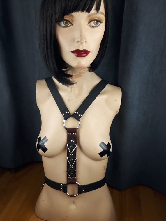 Harness Leather / Body Harness / GenderBender by StarCreationsCa