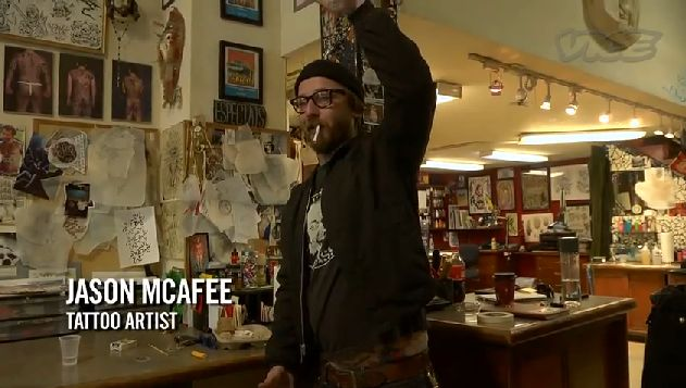 temple tattoo in oakland | ... right hand man, jason mcafee, a tattooer at temple tattoos