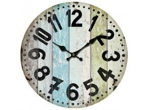 Nástěnné hodiny s pruhy, 34 cm