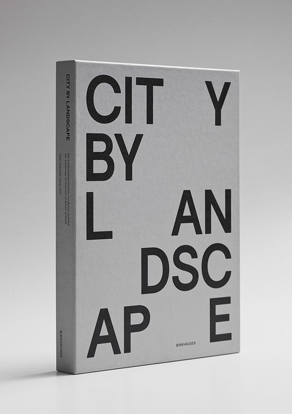City Landscape book cover by Hort