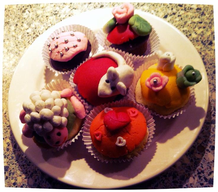 Cupcakes van de buurvrouw