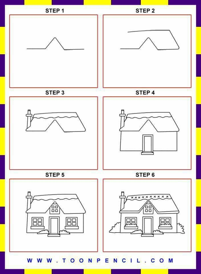 Kids House Drawing: 7 Best How To Draw Impossible Shapes Images On Pinterest