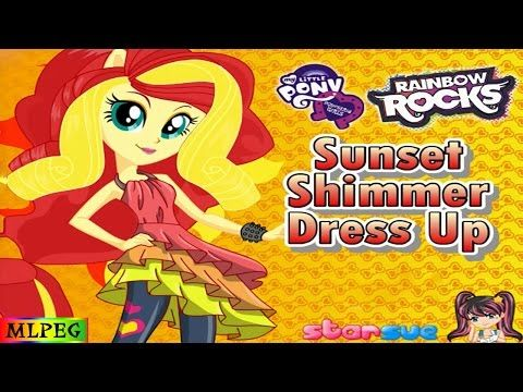 My Little Pony   Equestria Girls   Rainbow Rocks   Sunset Shimmer   Dres...
