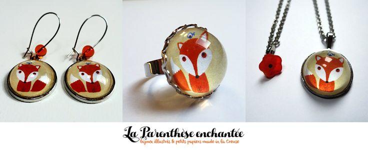 Le renard https://fr.dawanda.com/shop/la-parenthese-enchantee?q=renard