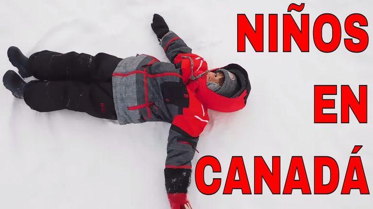 COMO JUEGAN LOS NIÑOS EN CANADA (INVIERNO CANADIENSE)| KCEXP