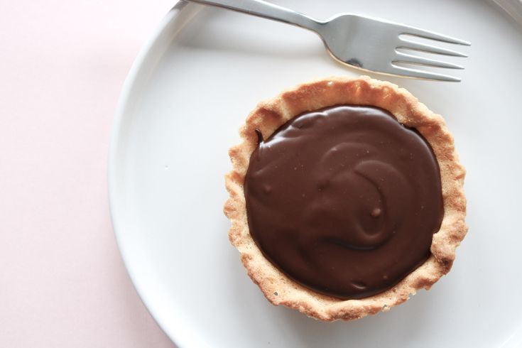 Chocolate Ganache Tartelette  https://allthesweetness.com/blog/2017-01/chocolate-ganache-tartelette