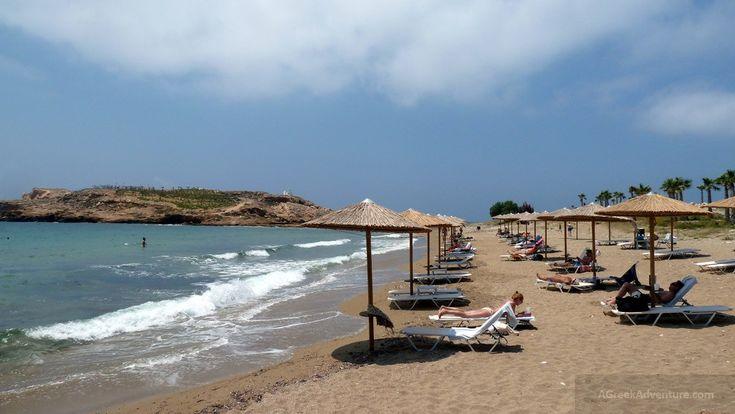 Koumbara beach, Ios Greece