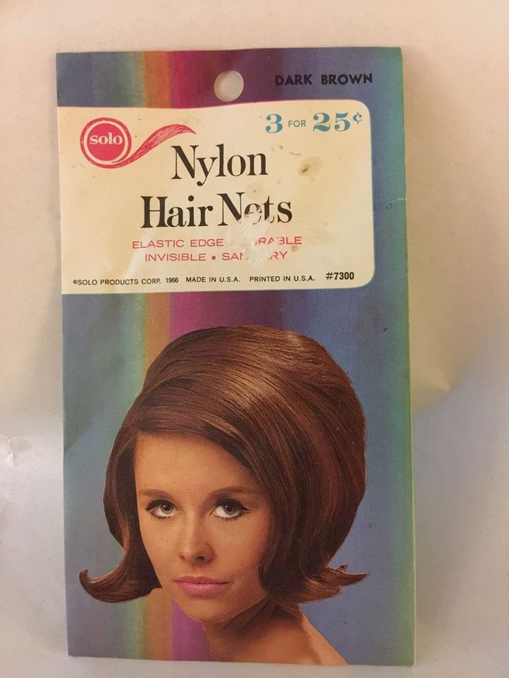 Vintage 1966 Solo Nylon Hair Nets Dark Brown 2 Hair Nets #7300   Clothing, Shoes & Accessories, Women's Accessories, Hair Accessories   eBay!