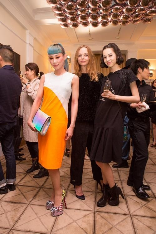 with stella mccartney & mademoiselle yulia