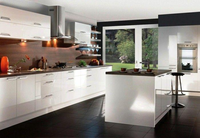 40 Moderne Kuchen In Weiss Faszinieren Durch Schick Und Funktionalitat Neue Dekor Moderne Kuche Kuchen Design Layout Design