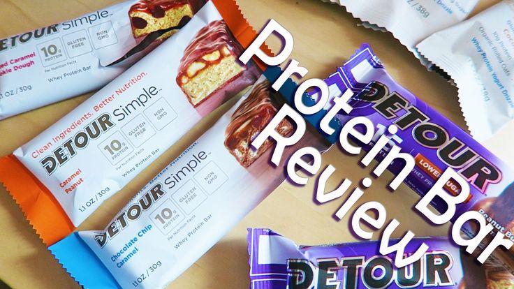 Detour Protein Bar Review | Lower Sugar, Simple & Smart Bars!