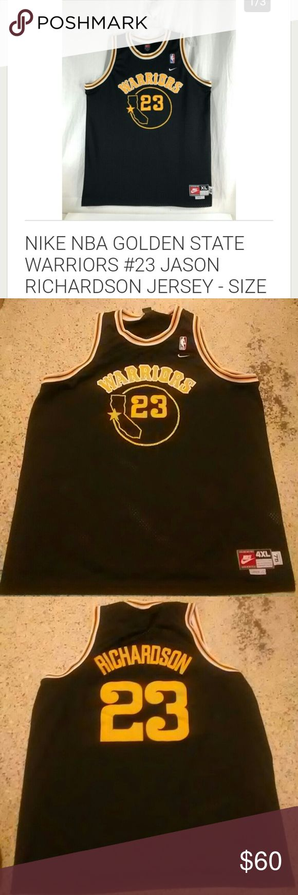 Jason Richardson Jersy In great conditions Nike Shirts Tank Tops