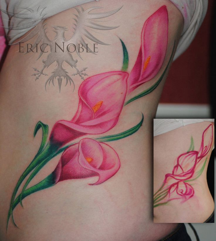 Image result for calla lily tattoo