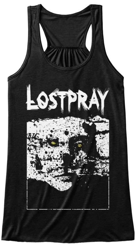 """Alienation White TankTop designed by Hal Rotter exclusive for TeeSpring. Talented designer inspired by LostPray's """"Alienation"""" song lyrics and came up with a unique composition of a man with a rotting (alienated) face which has been one of the best T-Shirt models of LostPray. . #distort #metal #heavy #traditional #new #artist #art #death #cool #hot #metalhead #ukrainian #turkish #band #odessa #istanbul"""