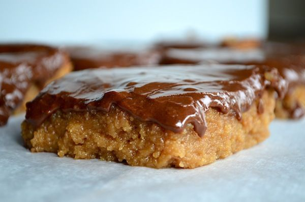Peanut Butter Blondies With Milk Chocolate Frosting Recipes ...