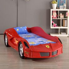 hot selling kids plastic race car toddler bed sports kids car bed for children furniture