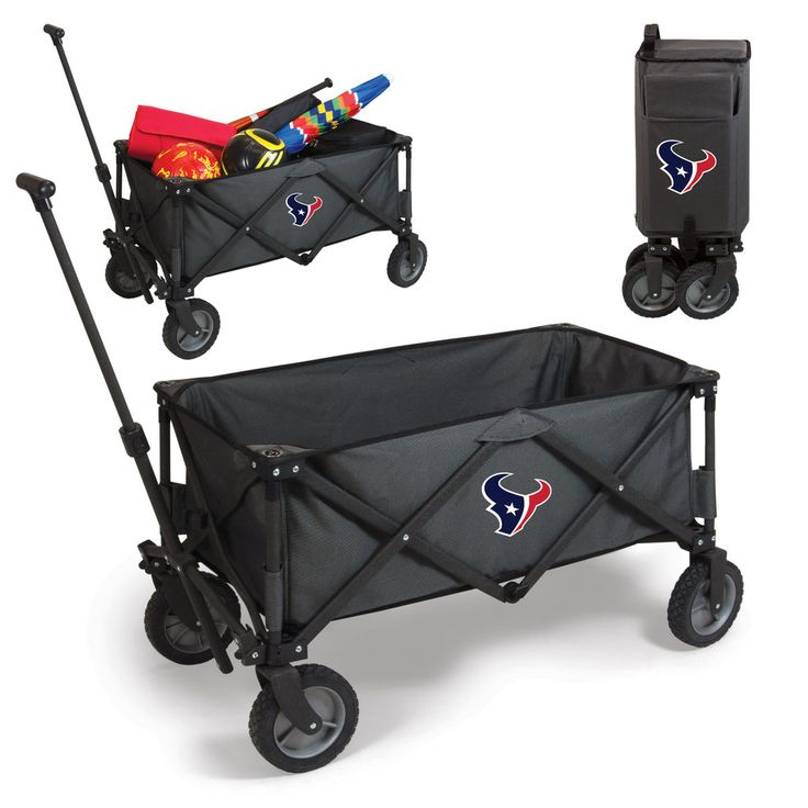 The Houston Texans Adventure Wagon is great for getting your gear around while tailgating or just in the backyard!