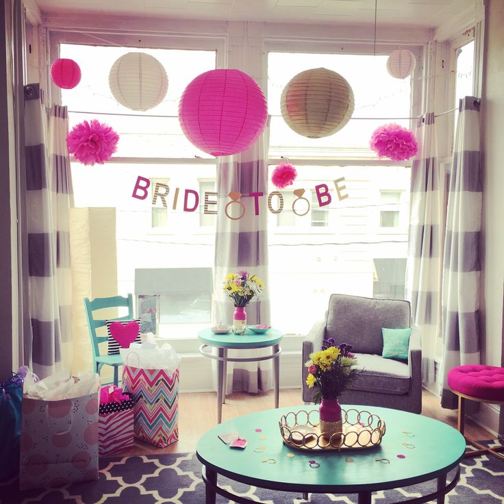 Best 25 pink bachelorette party ideas on pinterest for Bachelorette party decoration ideas