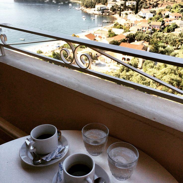 Corfu,kalami,morning,coffee,withmylove,breakfast,view,beautiful.