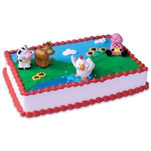25 Best Barn Yard Animal Cakes Images By Country Girl On