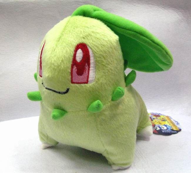 Wholesale Pokemon Chikorita Plush Doll  Anime Merchandise