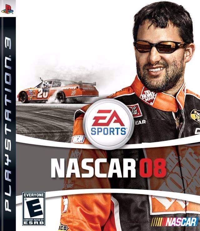NASCAR08 2008 - Playstation 3 - EA Sports - Rated E - Race the Car of Tomorrow!