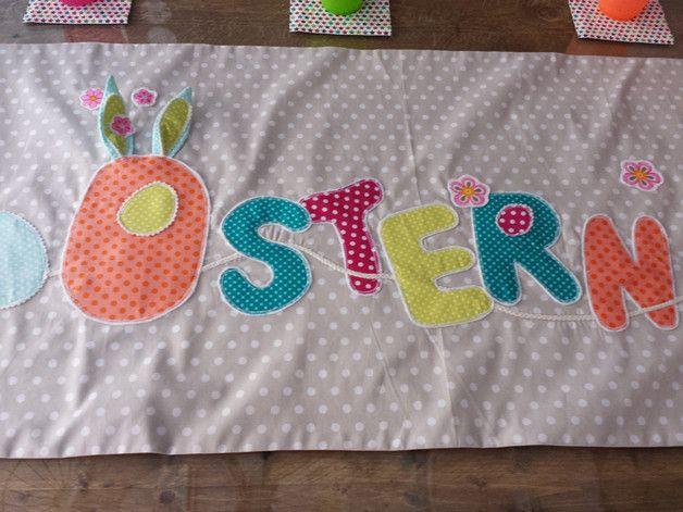 Tischläufer Ostern made by Bucko -Pillow via DaWanda.com