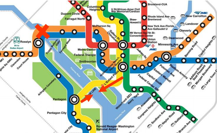 Could a subtle tweak to Metro's map fix overcrowding on the Blue Line? by Martine Powers