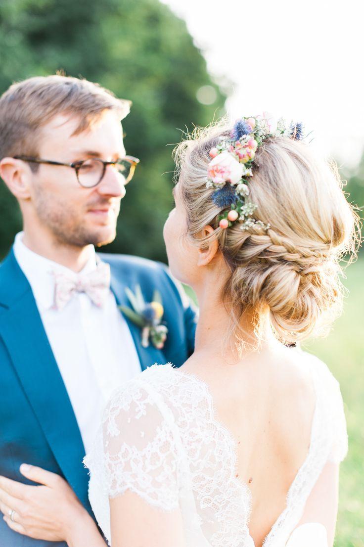 Land und bunte Hochzeit im Château Giscours, Médoc – Die Braut mit