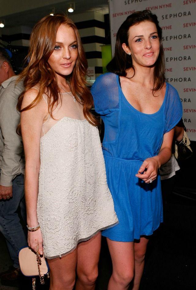 Lindsay-Lohan-Ali-Lohan-2009.jpg 640×945 pixels