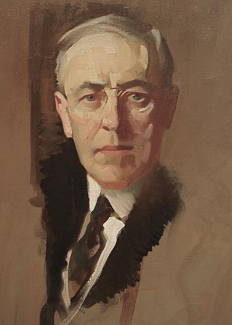 President Woodrow Wilson, National Portrait Gallery
